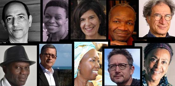 Les membres du jury de la 3e édition du Prix Orange du Livre en Afrique