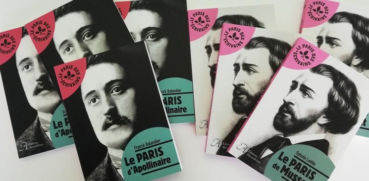 """On aime, on vous fait gagner """"Le Paris d'Apollinaire"""" & """"Le Paris de Musset"""""""
