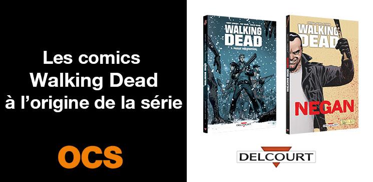 On aime, on vous fait gagner des comics de Walking Dead !
