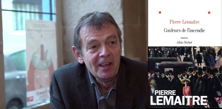 """Rencontre avec Pierre Lemaitre pour son nouveau roman """"Couleurs de l'incendie"""""""