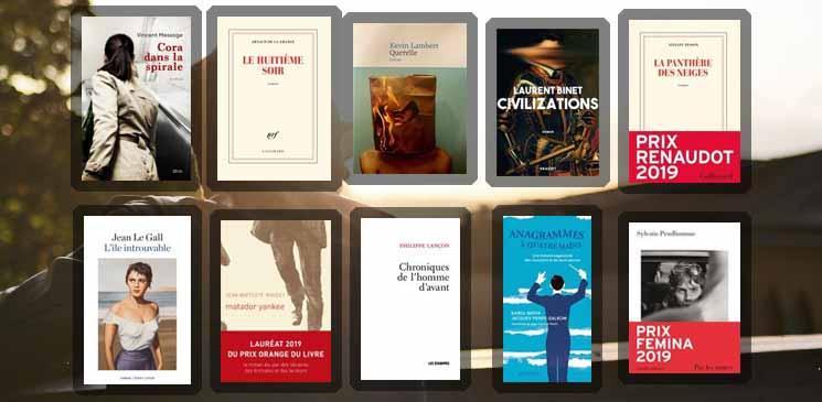 Les romanciers de l'année 2019 : dix auteurs majeurs