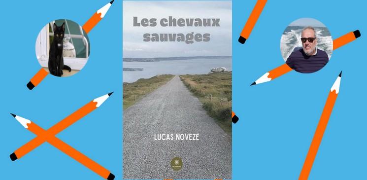 """""""Les chevaux sauvages"""", un étonnant premier roman signé Lucas Noveze"""
