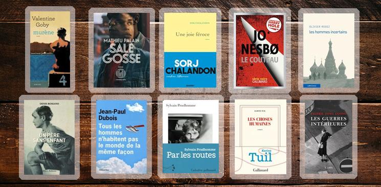 Rentrée littéraire : Les jurés lecteurs du Prix Orange du Livre 2019 partagent leurs coups de cœur