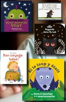 Les livres incontournables des 0 à 3 ans