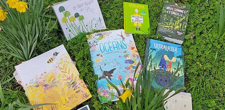 Les meilleurs livres jeunesse pour découvrir la beauté de la Nature et comprendre l'urgence écologique