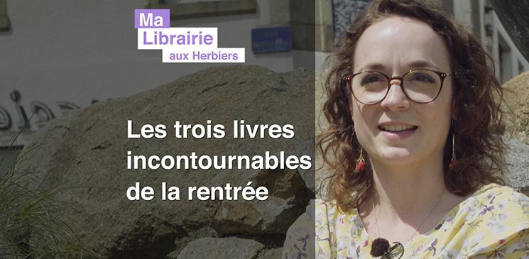 Ma librairie aux Herbiers : Trois livres incontournables de la rentrée littéraire, à découvrir et à gagner !