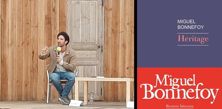 """Entretien avec Miguel Bonnefoy pour """"Héritage"""" : """"Un livre pour élever des ponts entre les peuples"""""""