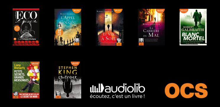 On aime, on vous fait gagner des livres audio pour accompagner votre été !
