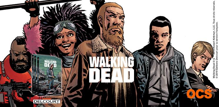 On aime, on vous fait gagner le nouveau tome de Walking Dead, la saga culte !
