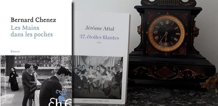 """""""37, étoiles filantes"""" de Jérôme Attal et """"Les mains dans les poches"""" de Bernard Chenez"""