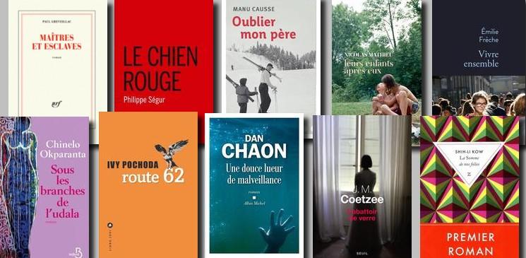 Le palmarès de la rentrée littéraire 2018 de lecteurs.com
