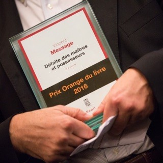 #PrixOrangeduLivre 2016 : découvrez le lauréat de la 8e édition