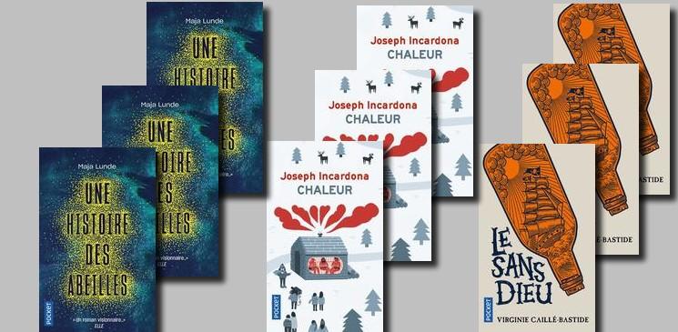 On aime, on vous fait gagner, des titres de la rentrée littéraire des éditions Pocket !