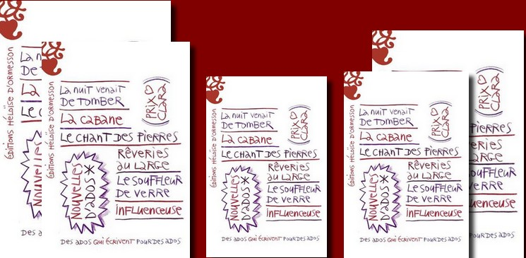 Le Prix Clara 2018, six regards, six aventures, six ados