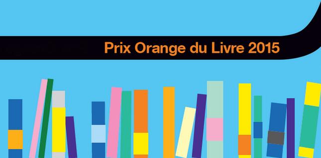 Les cinq romans finalistes du Prix Orange du Livre 2015