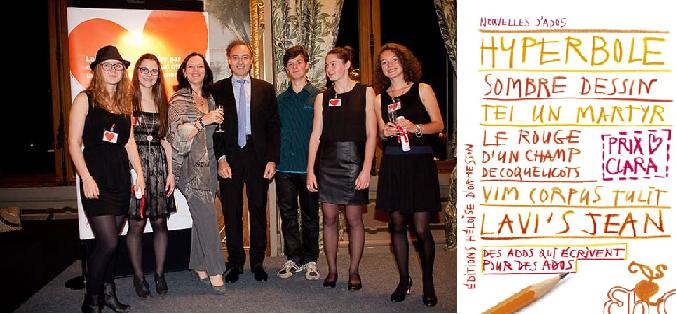 Le Prix Clara 2013, ces ados qui écrivent pour les ados