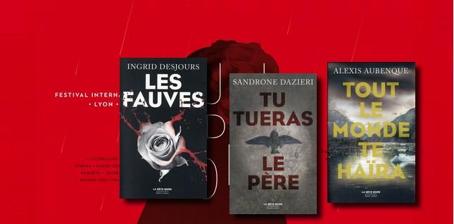 """#Rencontres privilégiées avec des auteurs à Lyon pendant le festival """"Quais du polar"""""""