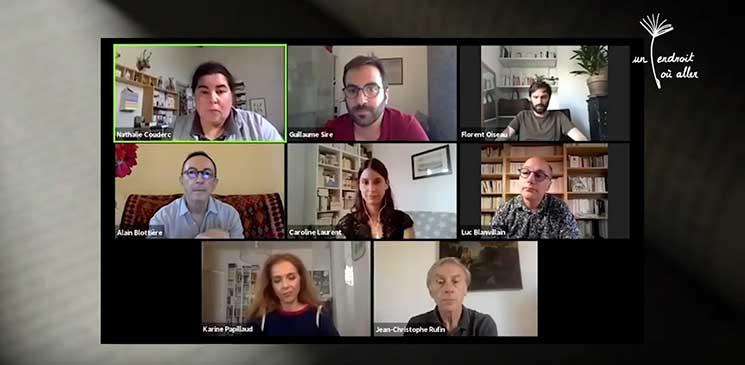Revivez la rencontre littéraire avec les 5 finalistes du Prix Orange du Livre 2020 !