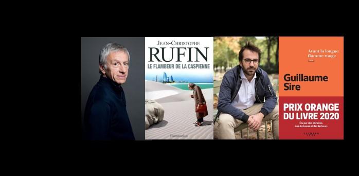 Suivez en direct la rencontre avec Jean-Christophe Rufin et Guillaume Sire