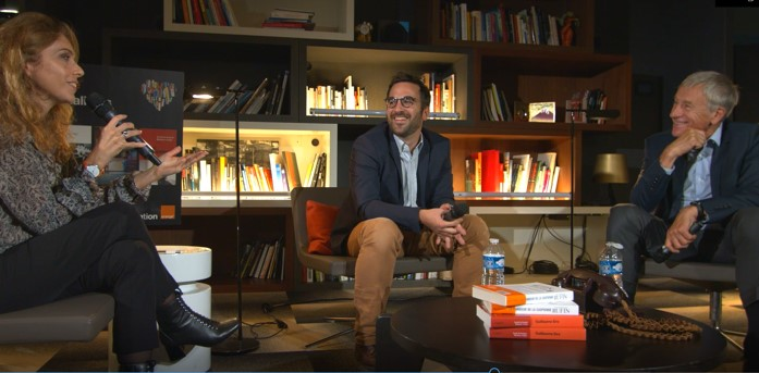 A voir ou à revoir - Rencontre littéraire avec Jean-Christophe Rufin et Guillaume Sire