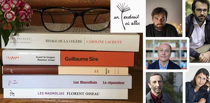Une rencontre littéraire en ligne avec les 5 finalistes du Prix Orange du Livre, ça vous tente ?