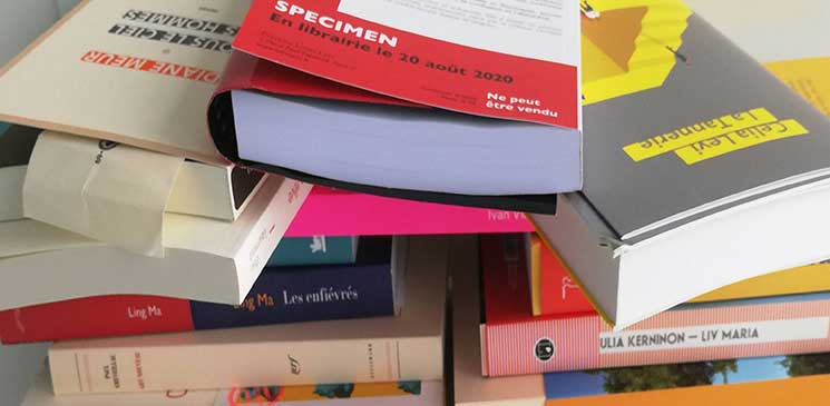La sélection de la rentrée littéraire de septembre avec les #Explolecteurs !