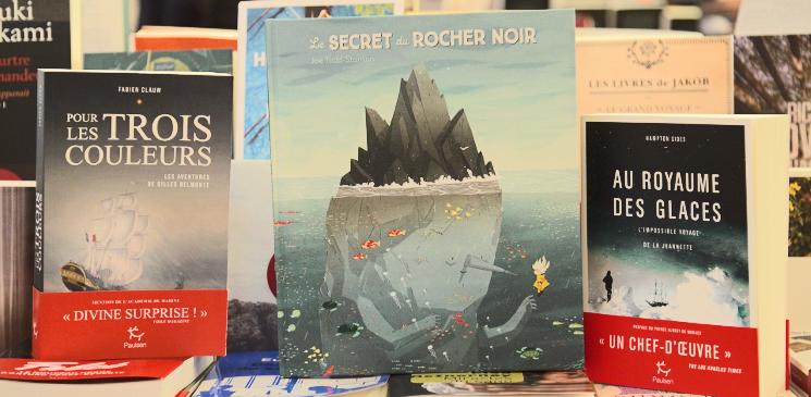 De l'aventure et des voyages avec Ma librairie à Saint-Malo