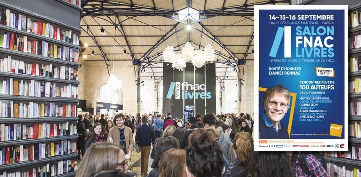 Salon FNAC Livres : la programmation de la troisième édition et les 4 finalistes du prix du roman FNAC 2018
