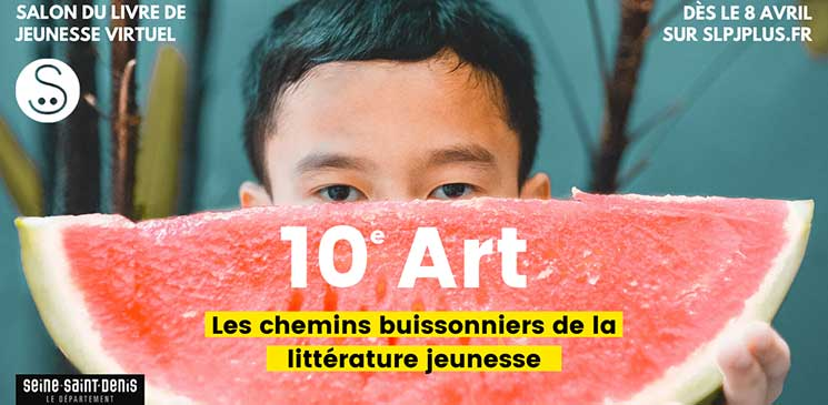 Suivez en ligne le Salon virtuel de la presse et du livre de jeunesse de Montreuil !