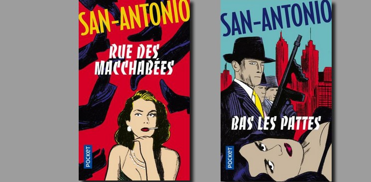 "On aime, on vous fait gagner ""Rue des Macchabées"" et ""Bas les pattes"" par San Antonio"