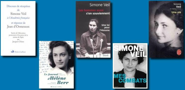 Simone Veil, une vie... Hommage par les livres