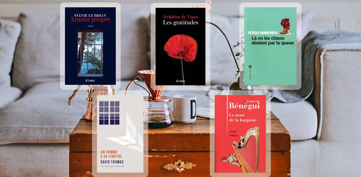 Au Salon du Livre... ou dans votre salon douillet ?
