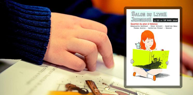 A Valence, un Salon du Livre Jeunesse qui met la lecture au cœur de la vie d'un quartier