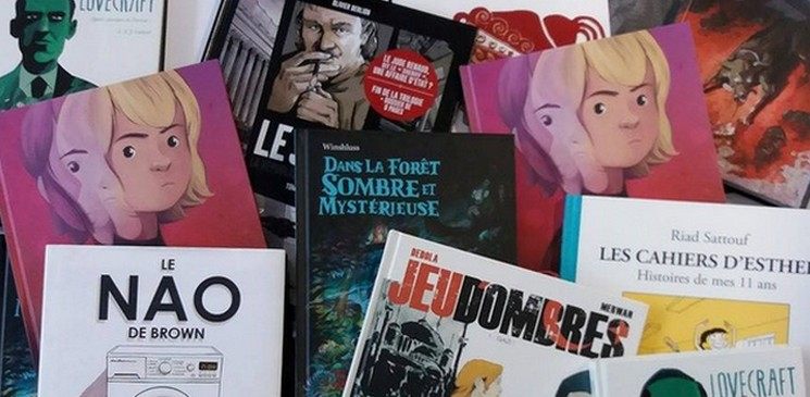 Découvrez l'actualité de la BD, gagnez et chroniquez un titre !