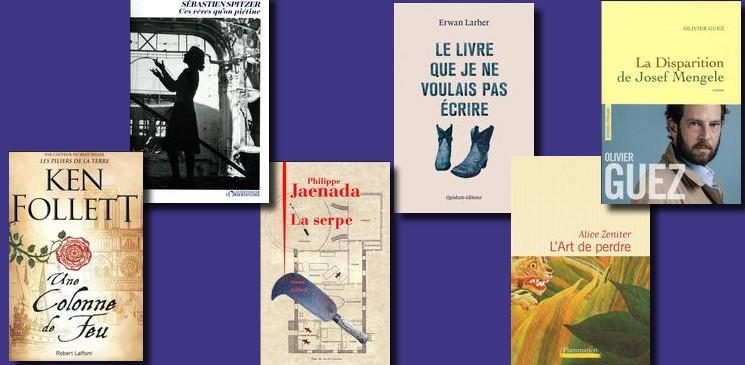 L'actualité comme l'Histoire inspirent les auteurs de la rentrée littéraire