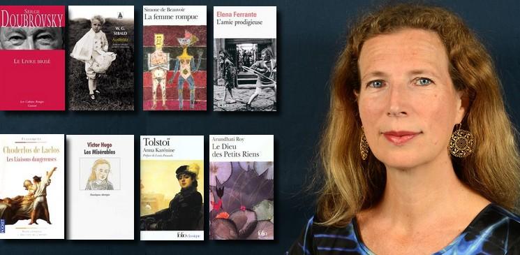 La bibliothèque idéale de Catherine Cusset