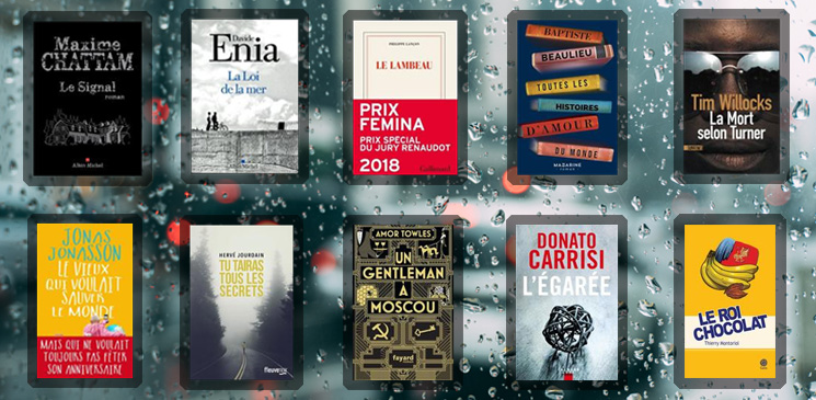 Les 10 livres coups de cœur des lecteurs - novembre 2018