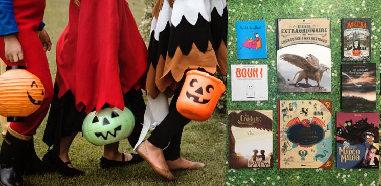 8 livres jeunesse pour s'amuser à se faire peur...