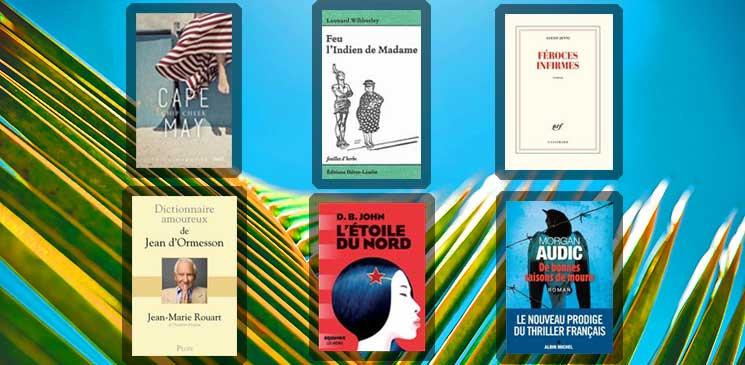 Des conseils de lecture pour l'été avec la Librairie Lamartine