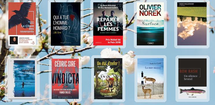 Les 10 livres coups de cœur des lecteurs - avril 2019