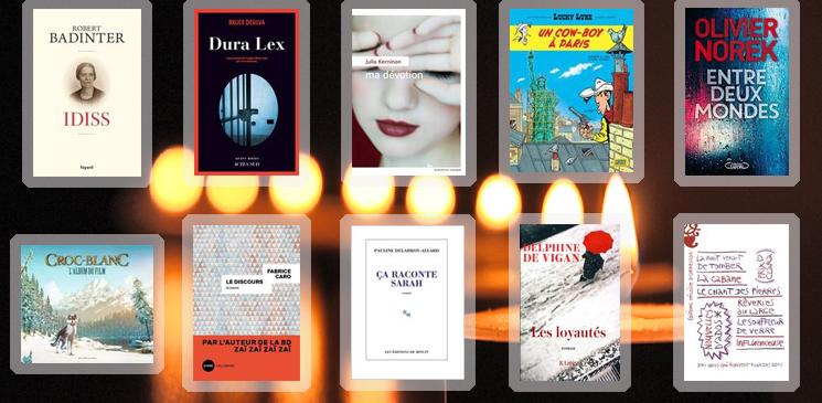 Les 10 livres coups de cœur des lecteurs - décembre 2018