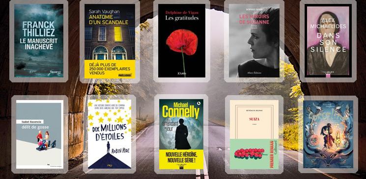 Les 10 livres coups de cœur des lecteurs - mars 2019