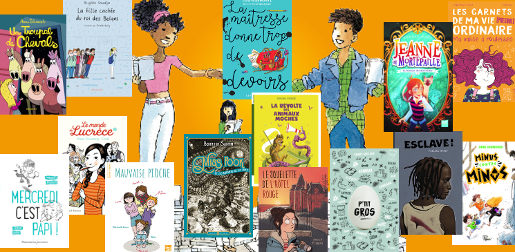 La bibliothèque des Petits champions de la lecture 2018 : des idées pour les 8-12 ans