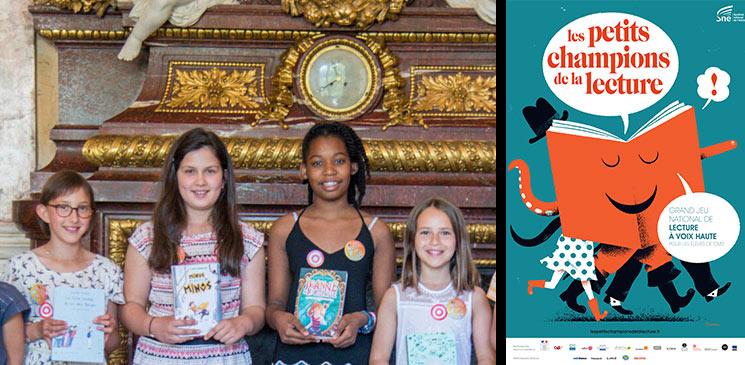 Devenez juré(e) des Petits champions de la lecture pour la finale régionale de votre choix !