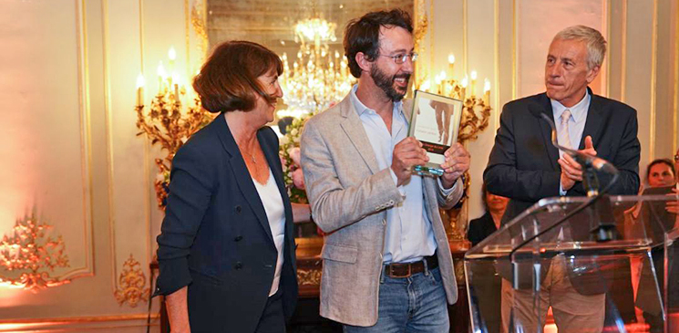 Jean-Baptiste Maudet, lauréat du Prix Orange du Livre 2019 pour « Matador Yankee » !