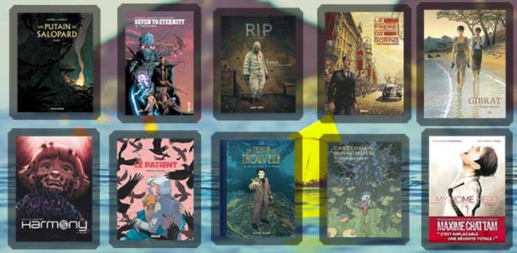 Quelles sont les 10 bandes dessinées à lire cet été ?