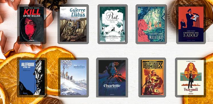 Les 10 bandes dessinées à offrir ce Noël pour faire des heureux