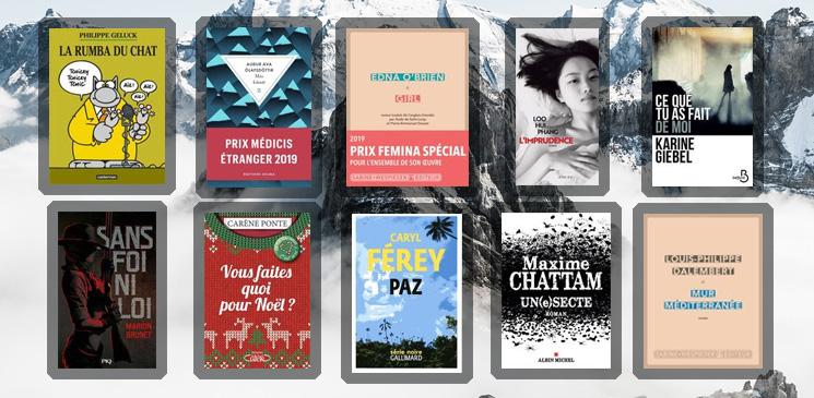 Les 10 livres coups de cœur des lecteurs - décembre 2019
