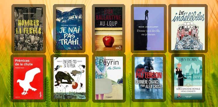 Les 10 livres coups de cœur des lecteurs - juillet 2019