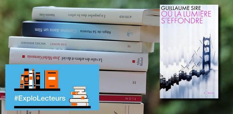 """La critique des lecteurs pour """"Où la lumière s'effondre"""" Guillaume Sire (Plon)"""